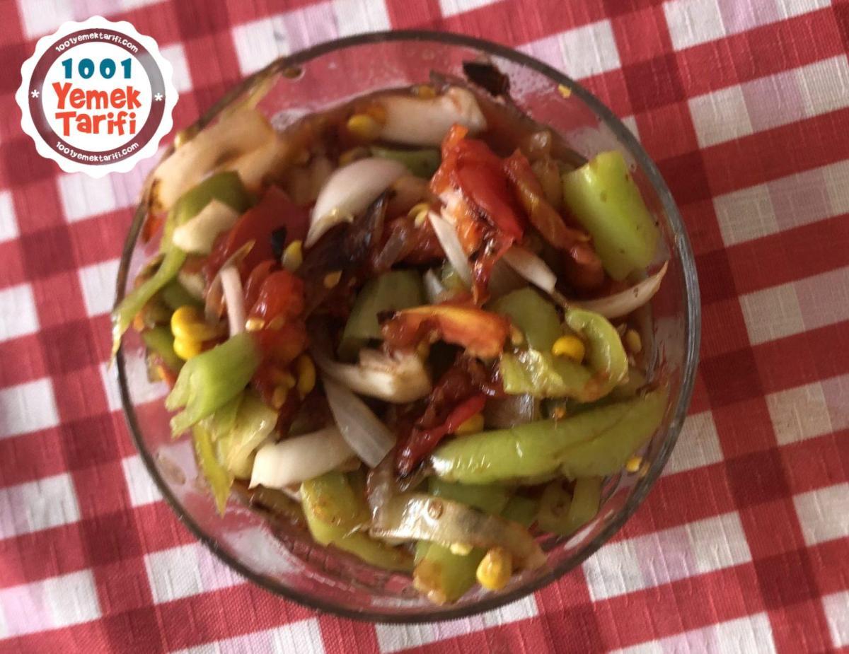 Köz Salata Tarifi-nasıl yapılır-kaç kalori