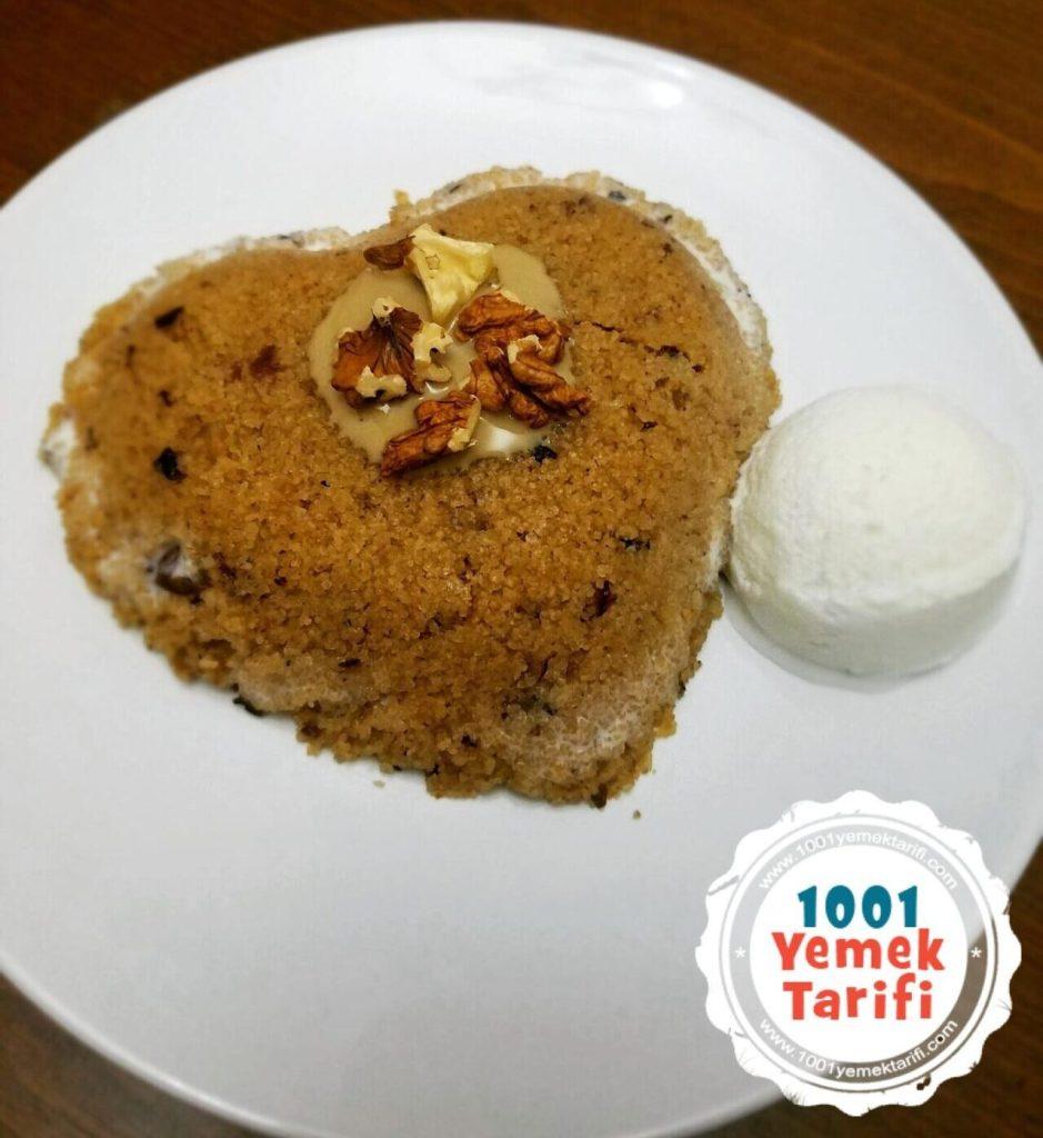 Dondurmalı Tahinli İrmik Helvası Tarifi-nasıl yapılır-kaç kalori