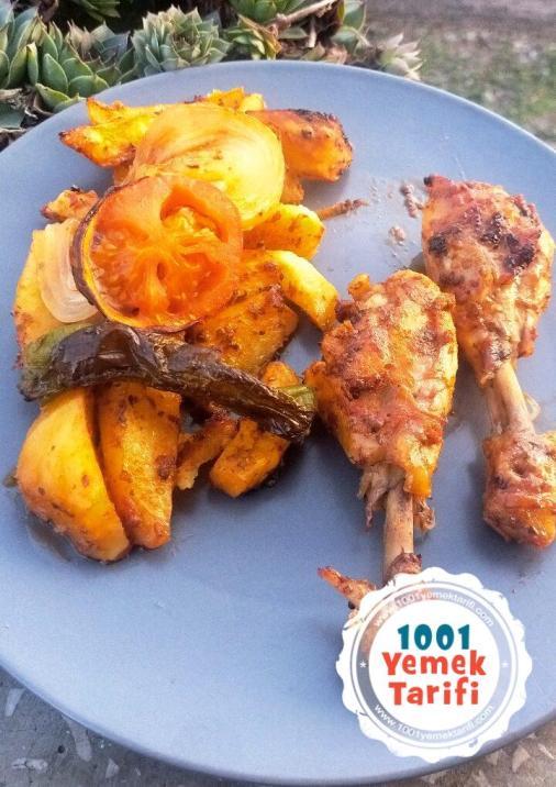Fırında Tavuklu Patates Tarifi-nasıl yapılır-kaç kalori