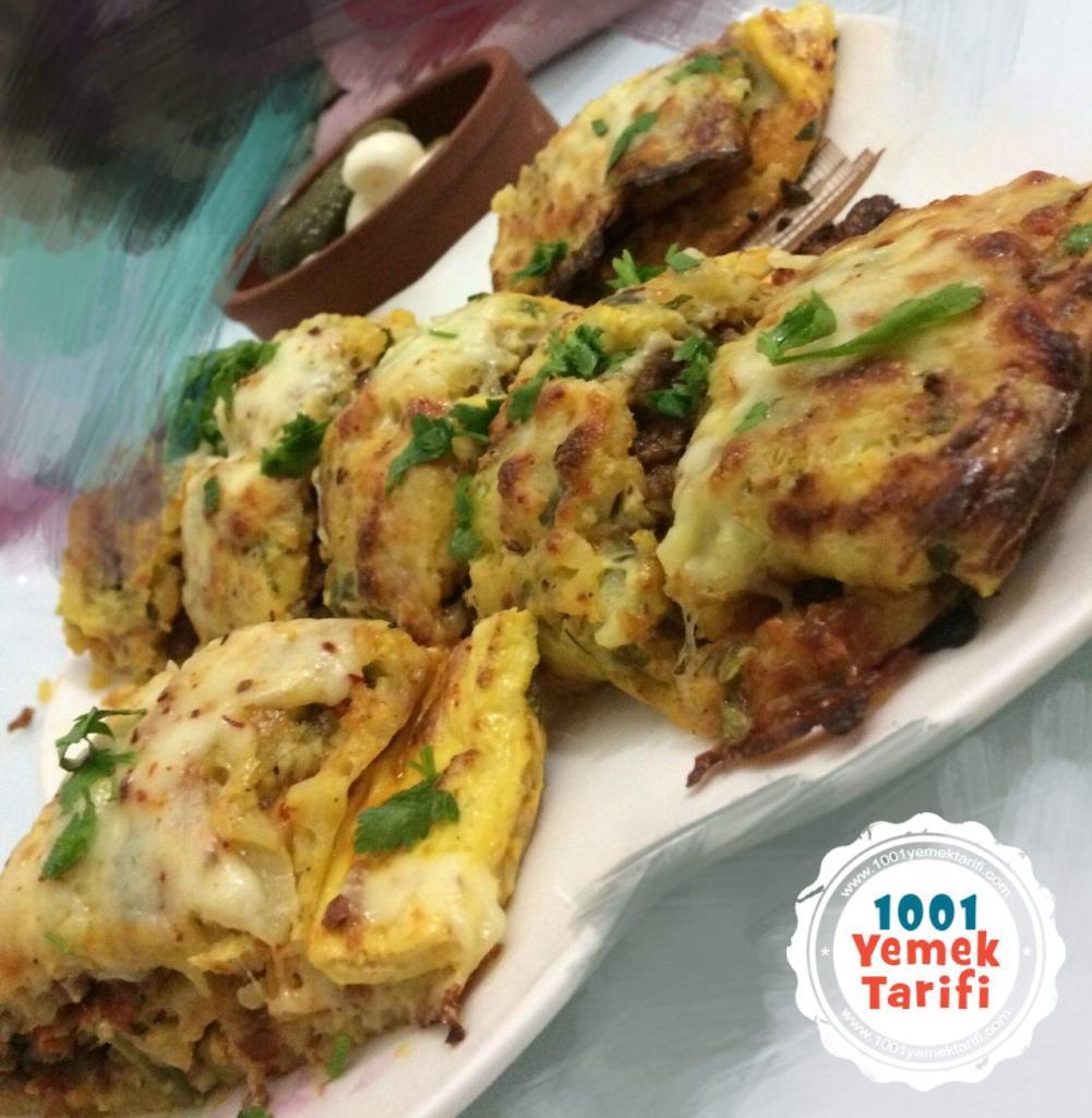 Kıymalı Rulo Patates Tarifi-yapımı-nasıl yapılır-kaç kalori