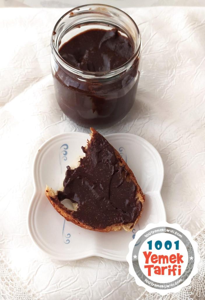 ev yapımı nutella yapımı-çikolatalı fındık kreması nassıl yapılır-tarifi-kaç kalori