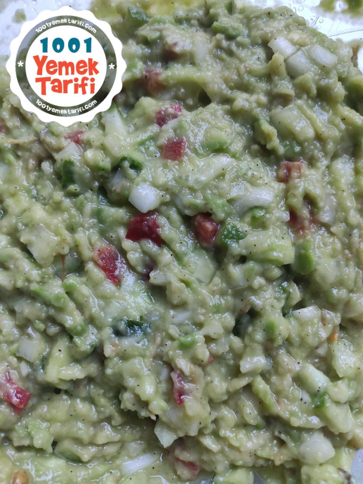 Avokado Salatası tarifi-nasıl yapılır