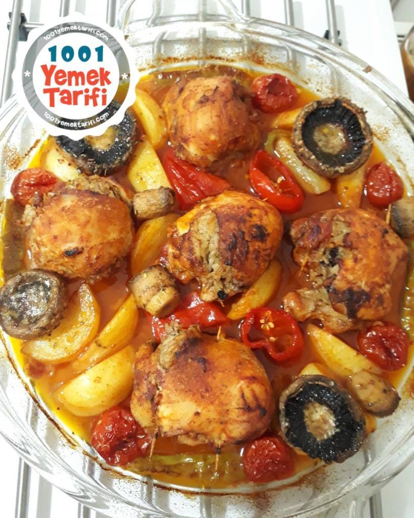 tavuk Topkapı tarifi nasıl yapılır-kaç kalori-osmanlı mutfağı