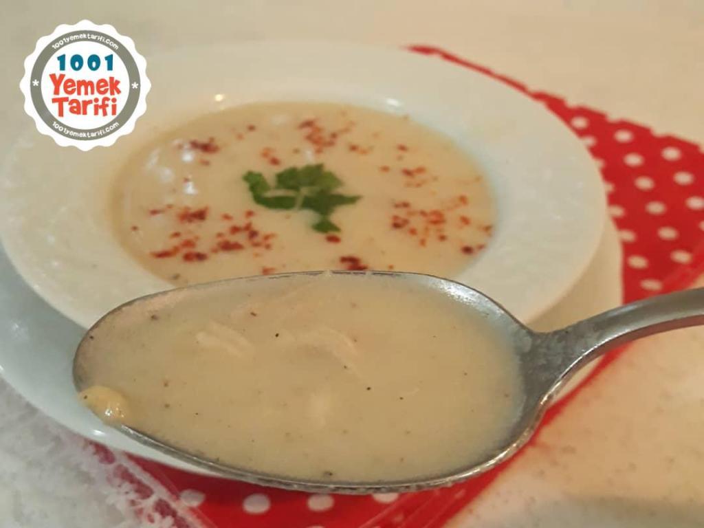 Kremalı Tavuk Çorbası tarifi nasıl yapılır