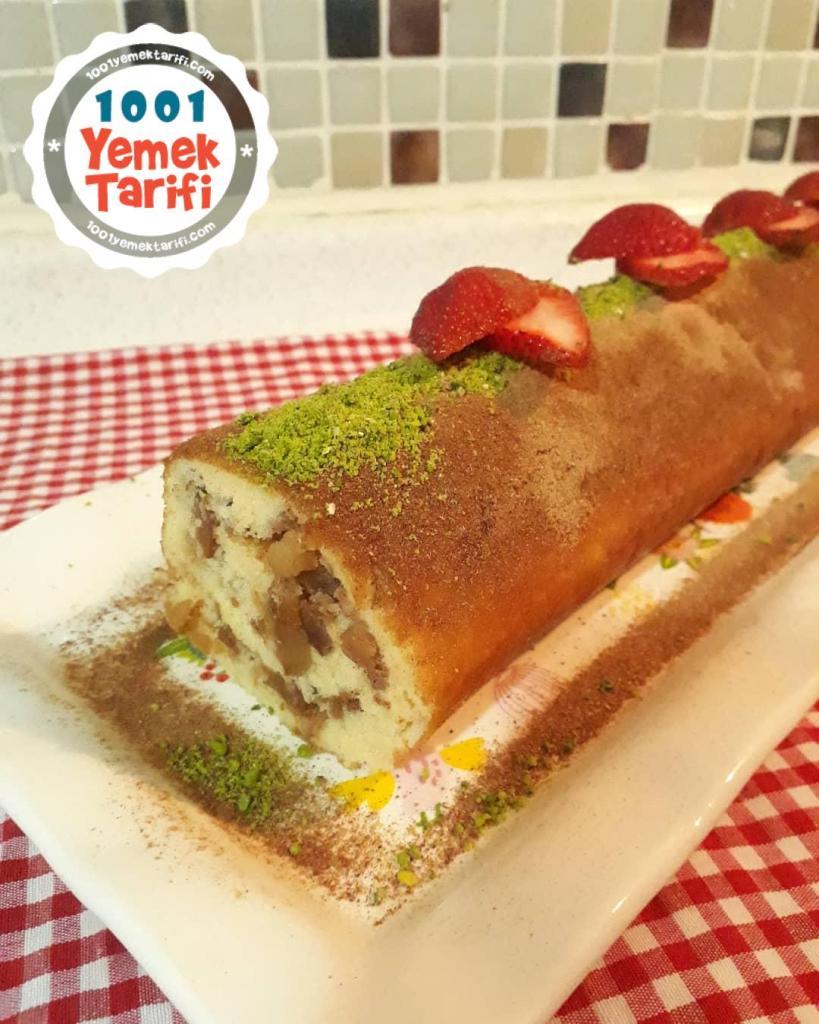 Elmalı Kek Tarifi nasıl yapılır-meyveli kek yapımı