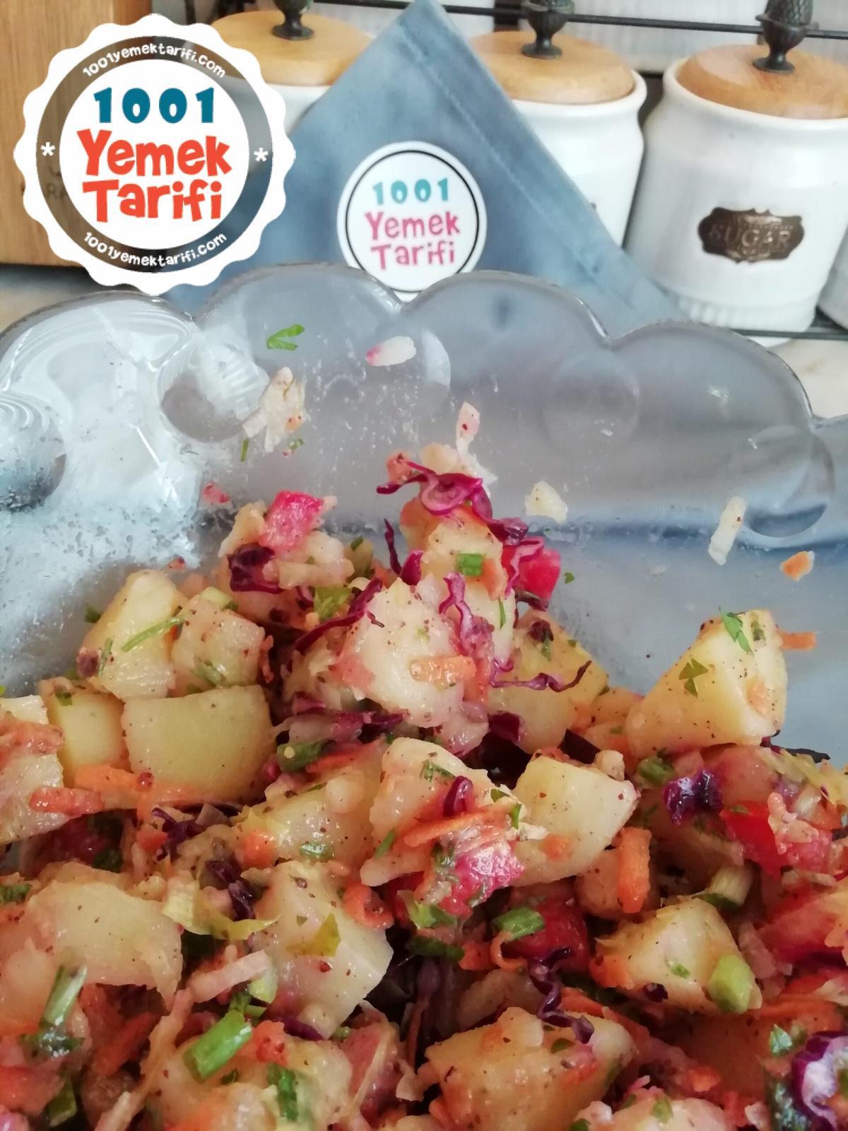 Kolay Patates Salatası