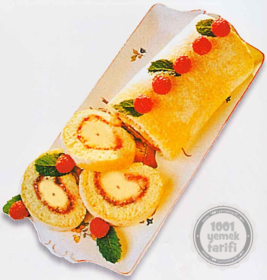 Muzlu Rulo Pasta Tarifi-Nefis Rulo Pasta Yapimi-kac kalori-kolay rulo pasta nasil yapilir-1001yemektarifi
