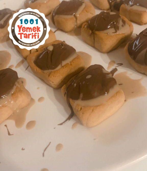 Tahinli Nutella Kurabiyesi-nasıl yapılır