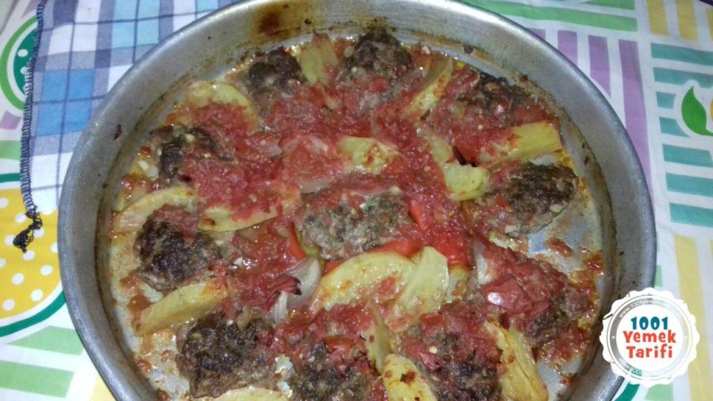 Fırında köfte tarifi-patatesli köfte yapımı