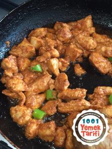 Soslu Tavuk Tarifi-nasıl yapılır-kaç kalori
