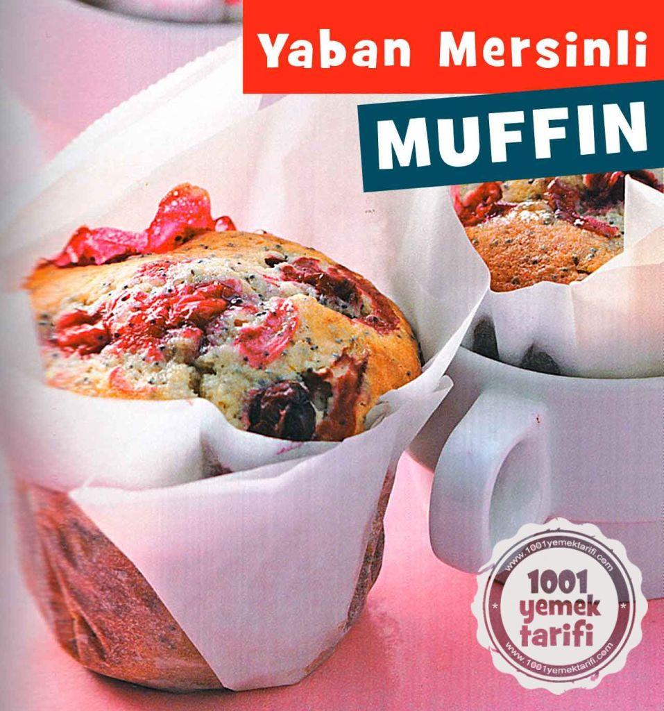 Haşhaşlı ve Yaban Mersinli Muffin Tarifi