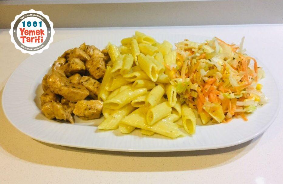 Tavuk Dünyası Menüsü Tarifi nasıl yapılır (Kekiklim) kaç kalori