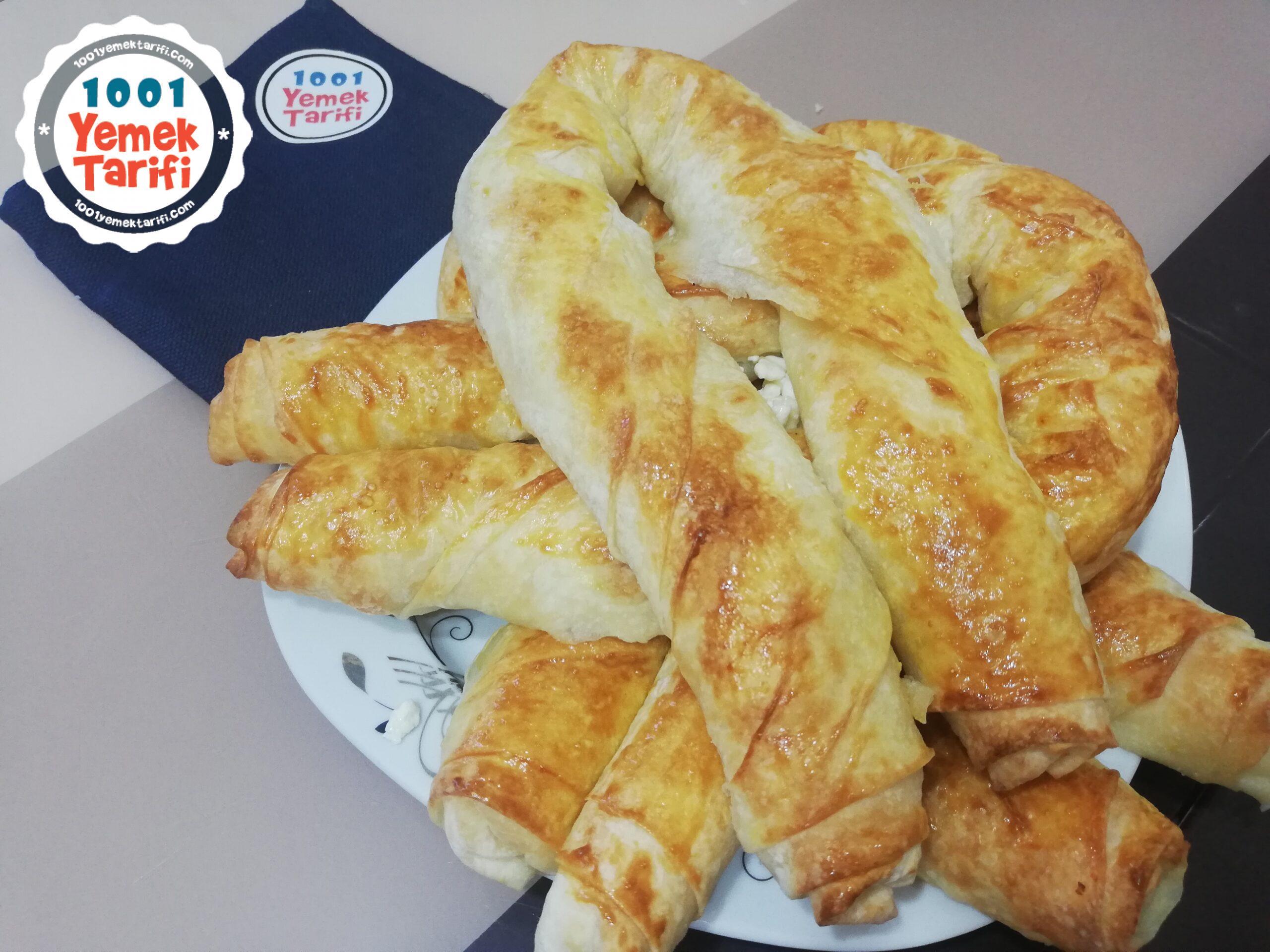 Peynirli Kol Böreği nasıl yapılır