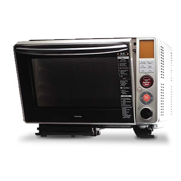 Toshiba ERH8MS Microwave Inverter Stone Oven W Steam Function reviews