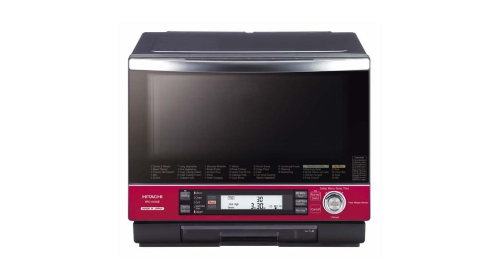 hitachi 33l made in japan microwave oven