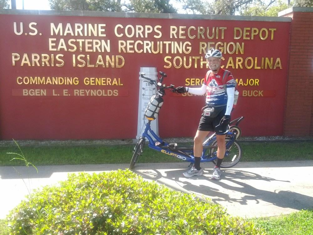 Day 1 - Beaufort to MCRD to Ridgeland, SC