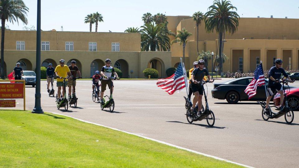 Day 100 - Solana Beach, CA to MCRD San Diego, CA (5/6)