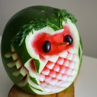 Raoul The Owl Watermelon