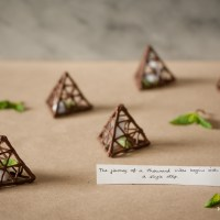 Chocolate Fortune Pyramids