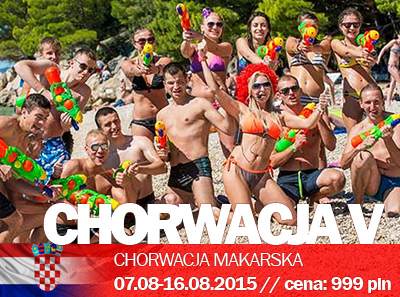Studenckie wakacje w Chorwacji V