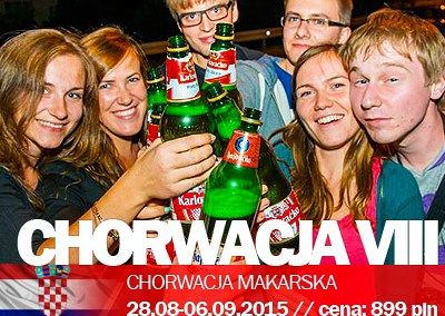 Chorwacja Makarska  we wrześniu VIII