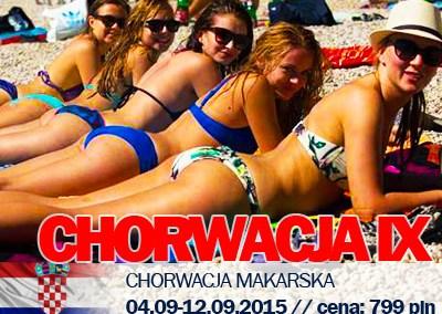 Chorwacja we wrześniu – imprezy ciąg dalszy!