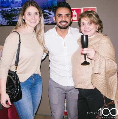 tnIzabella Basso, André Silva e Neide Monaro
