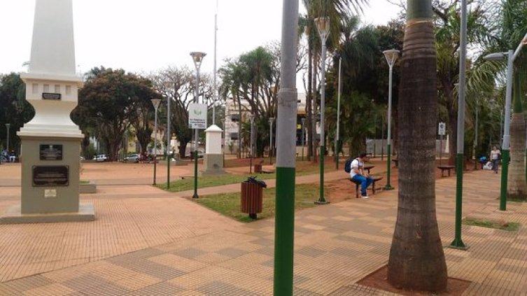 Praça-San-Martín-Lei de Emergência Turística