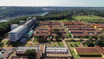 PTI Parque Tecnológico de Itaipu vista aérea