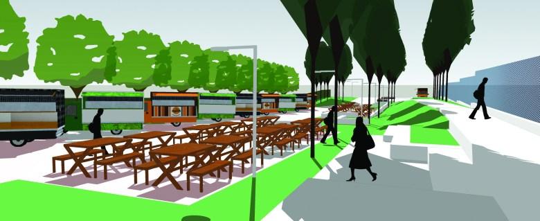 Projeto de revitalização do Gramadão