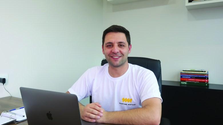 Rodrigo Notari engenheiro da Martins Notari