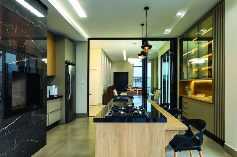 Box Arquitetura casa contemporânea