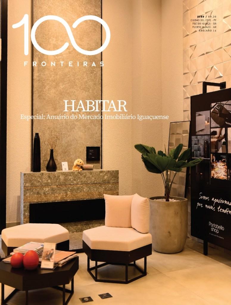 Capa de setembro de 2020 da Revista 100fronteiras ediçõo 180