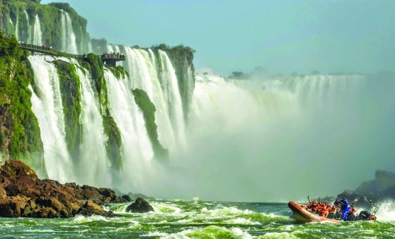 Cataratas do Iguaçu passeio de barco
