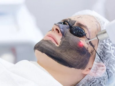paciente relaizçaão o tratamento de black peel