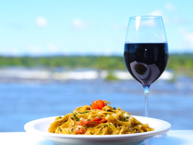 Um dos pratos do novo cardápio do restaurante Porto Canoas/Fotografias: Nilton Rolin.