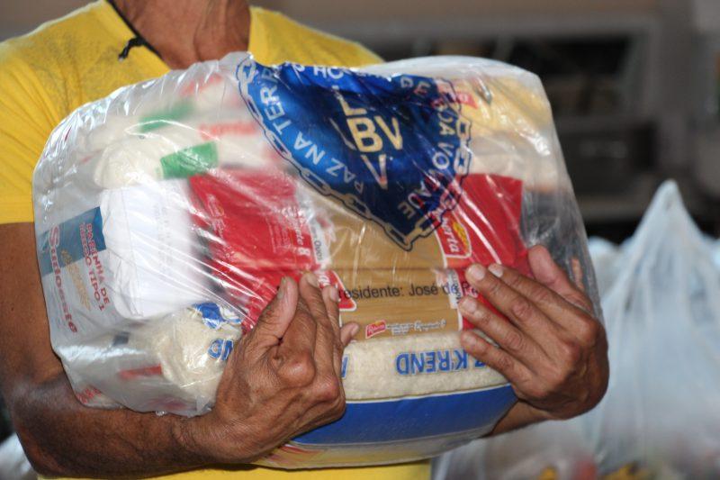 LBV irá atender 100 famílias da Ocupação Bubas com mais de 2 toneladas em doações