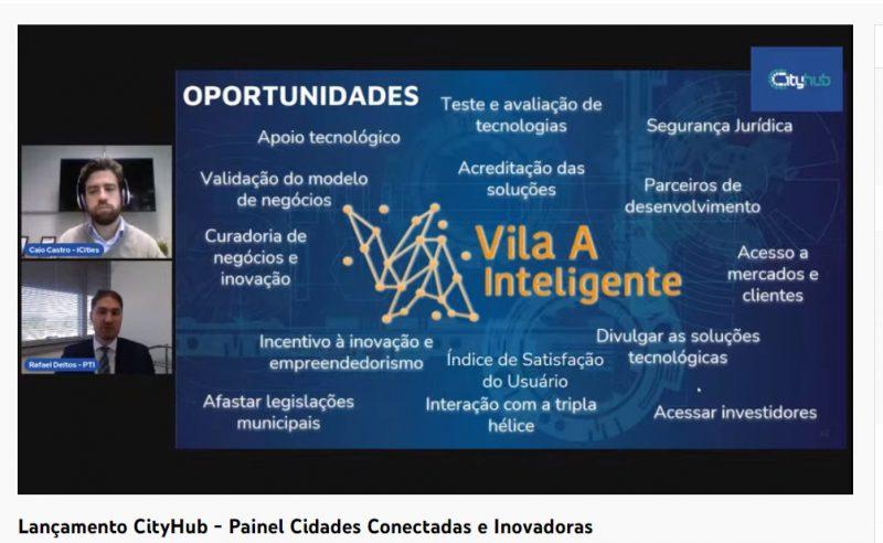 PTI-BR apresenta case do Programa Vila A Inteligente evento cidades conectadas e inovadoras