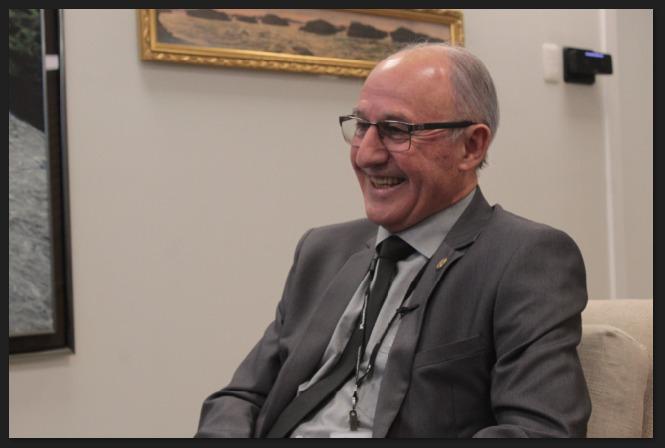General João Ferreira - diretor-geral de Itaipu