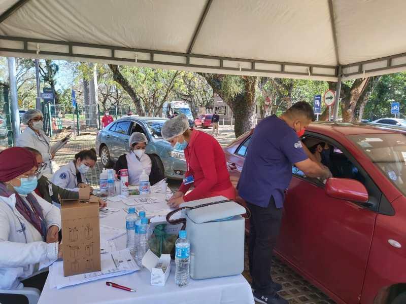 vacinação no Paraguai e em Alto Paraná