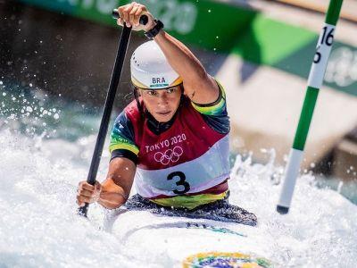 Ana Sátila atleta brasileira canoagem