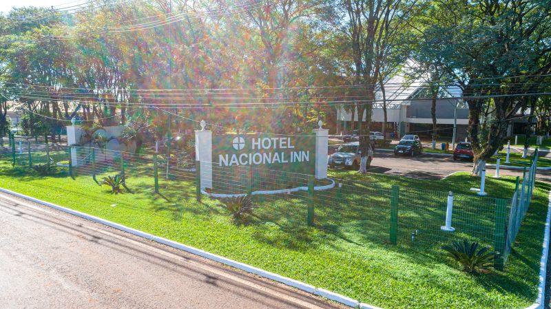 Entrada Hotel Nacional Inn Foz do Iguaçu