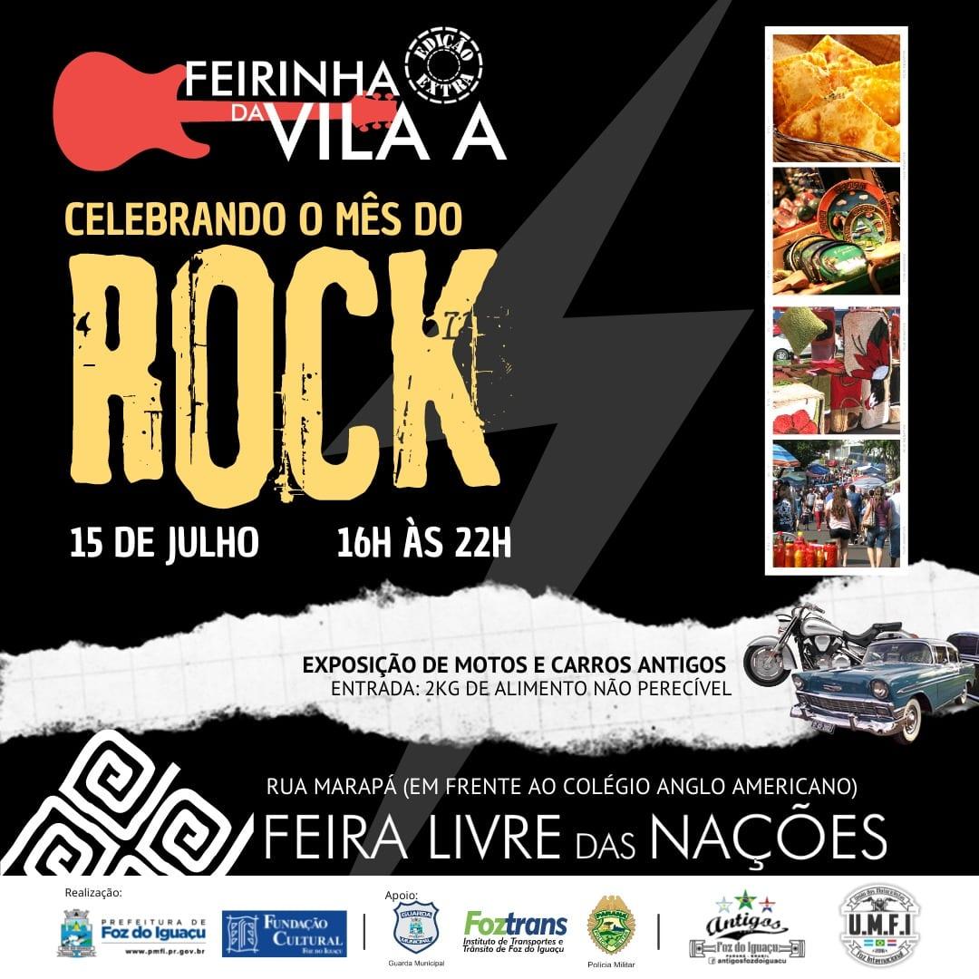 Feirinha da Vila A edição especial Rock