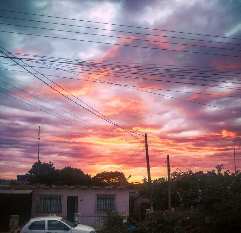 Nascer do sol em Santa Terezinha de Itaipu