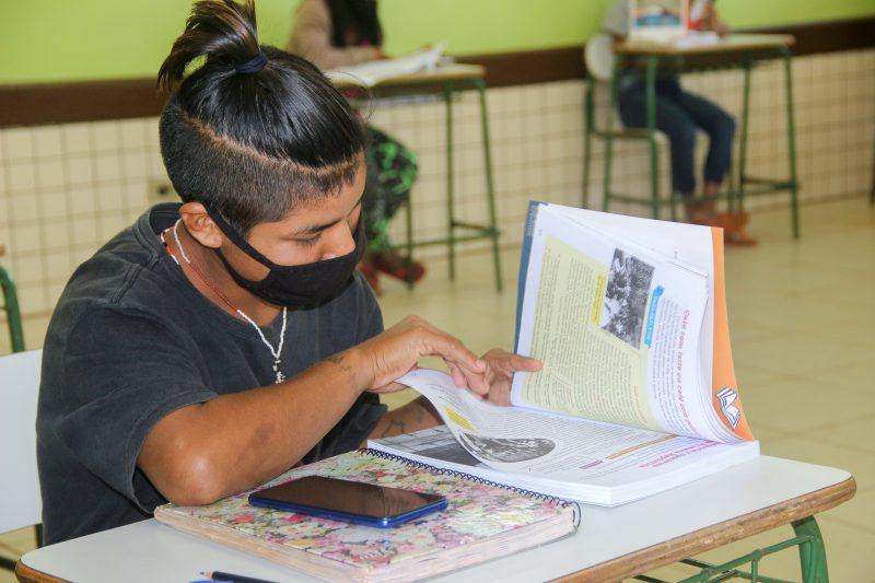 Melhorias nas escolas indígenas