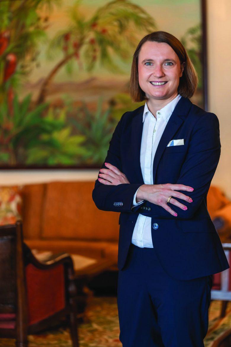 Andrea Emmerling - gerente do Belmond Foz