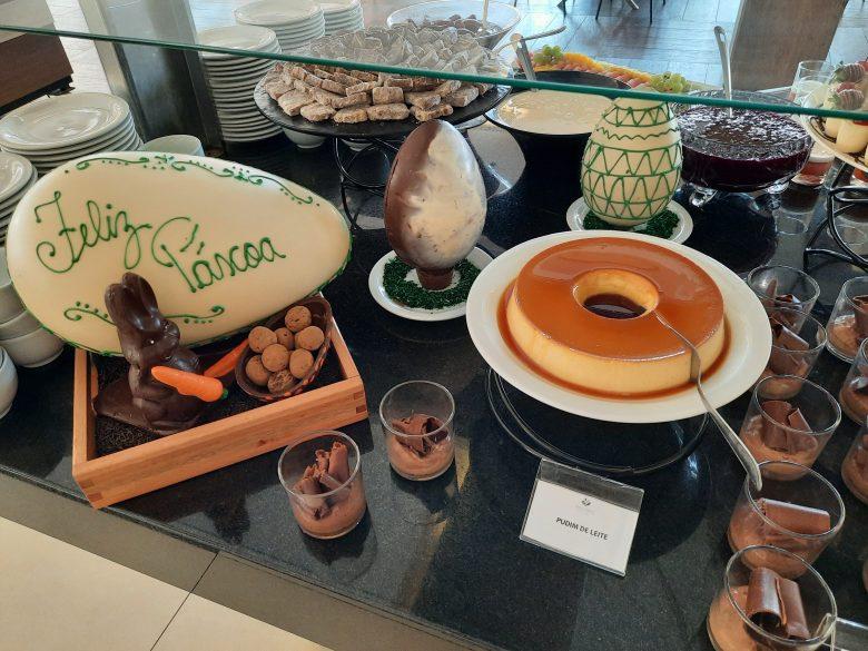 Comida no hotel Recanto