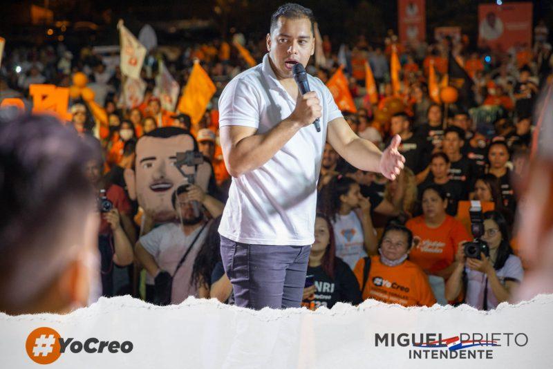 Miguel Prieto prefeito de Ciudad del Este
