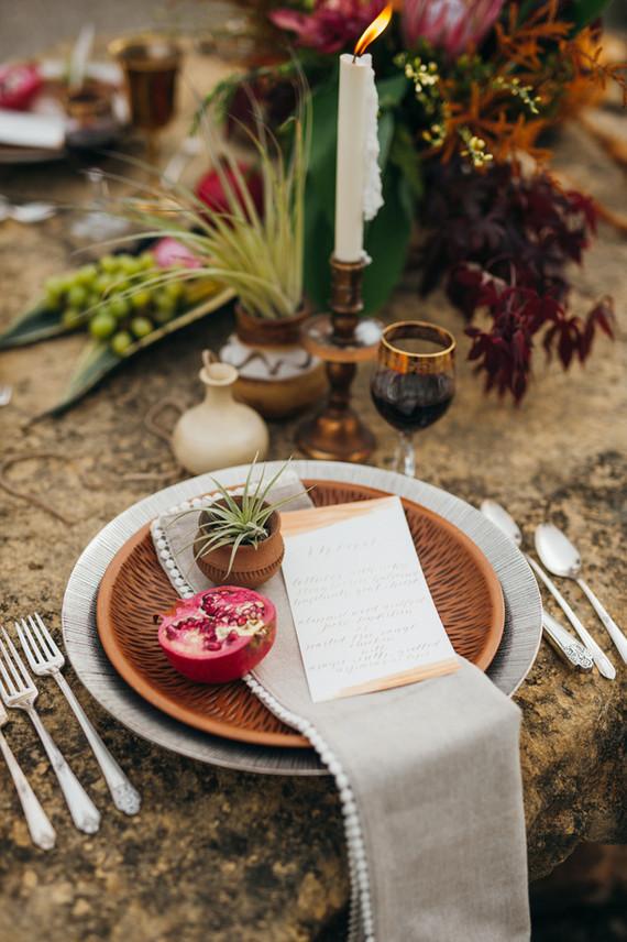 Bohemian outdoor wedding inspiration  Fall wedding  100