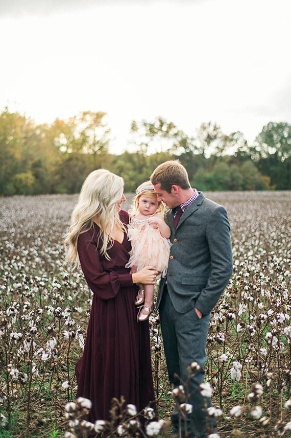 Cotton Field Family Photos Fall Family Photos 100